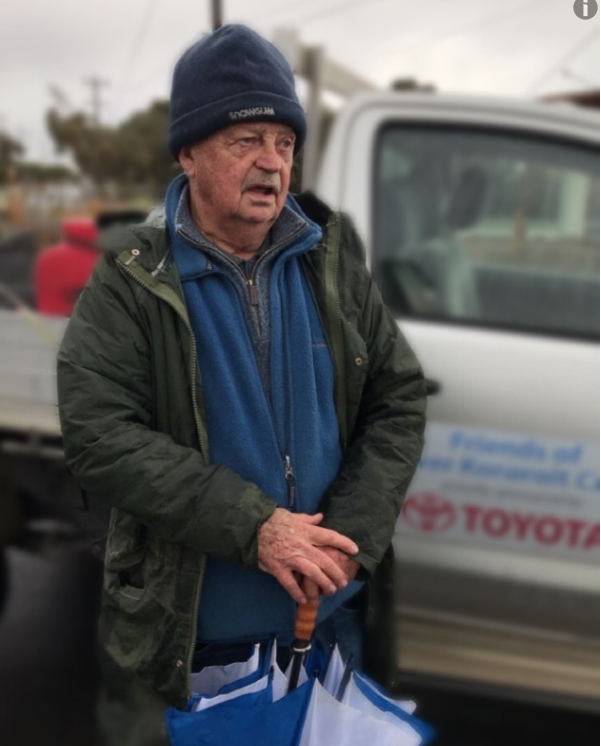 """""""We started with a grant of $1500"""": Kororoit Creek's longtime champion, Geoff Mitchelmore"""