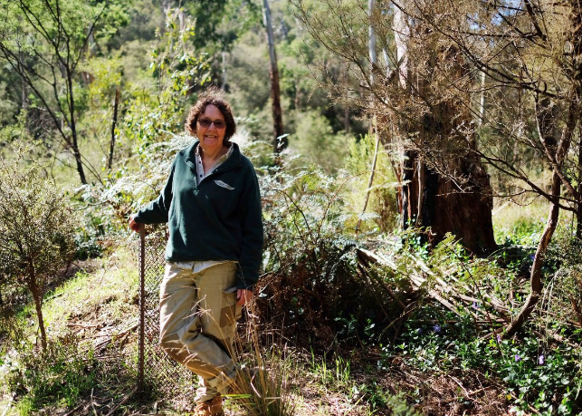 """""""There were too many threats to this beautiful environment. I needed to work to improve it."""" – Robyn Gillespie, Andersons Creek Landcare."""