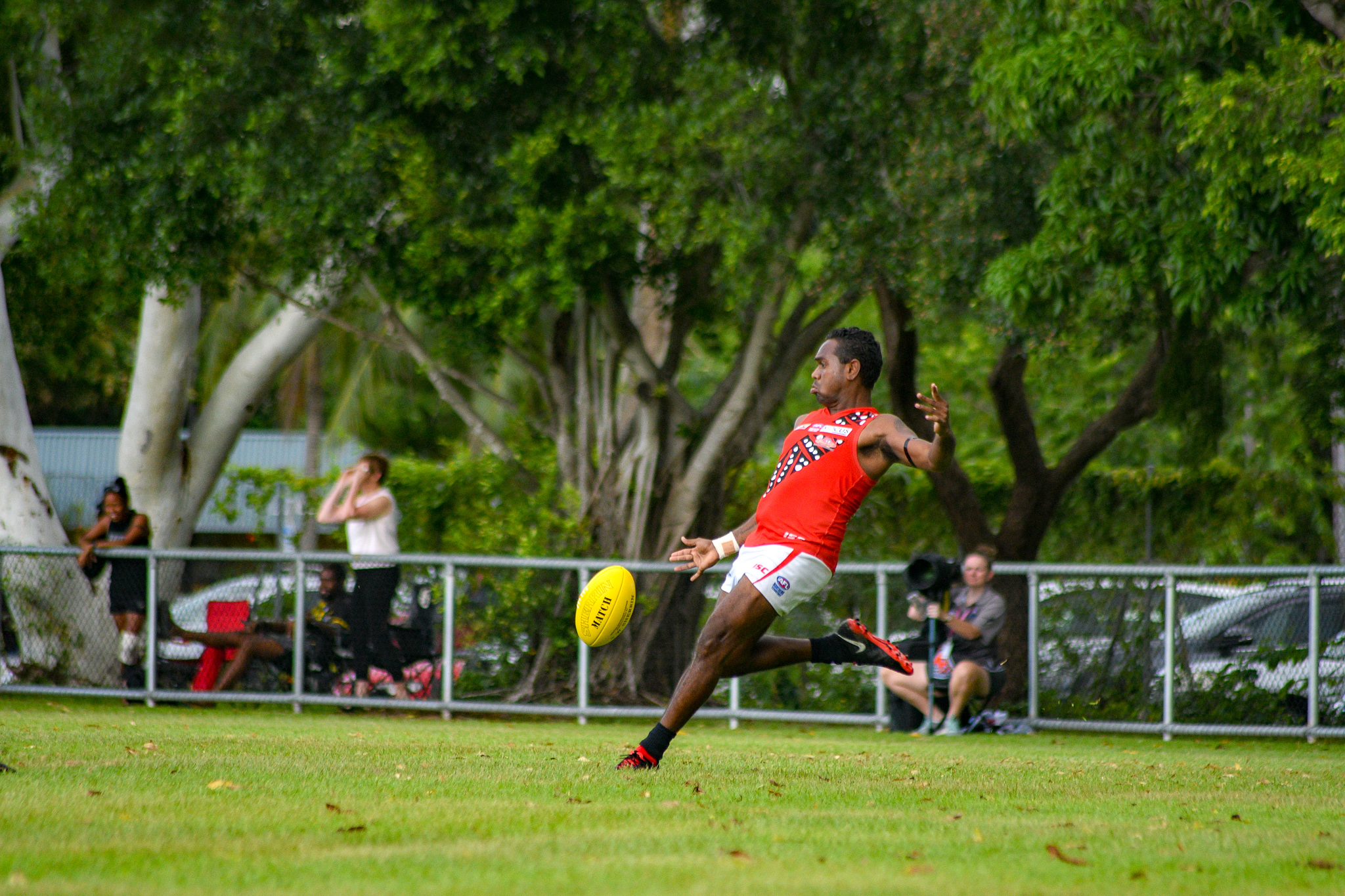 For Tiwi star, strength on the ground builds strength in family, community