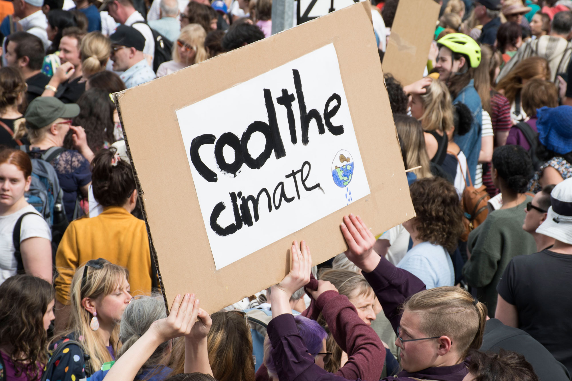 Global Climate Strike, Melbourne  Photo: Cici Liu