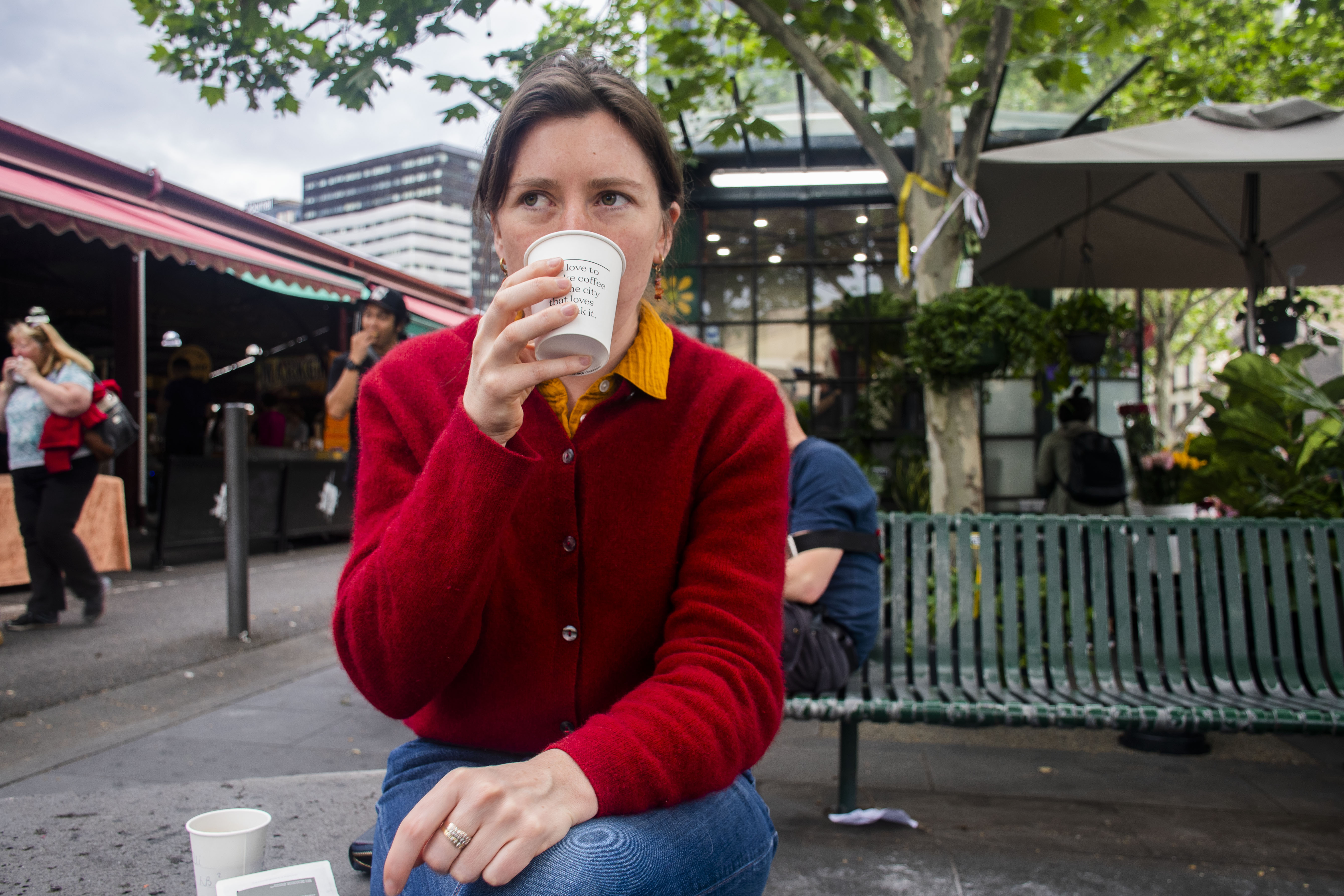 From laneway stops to market stalls, Melburnians can't get enough coffee