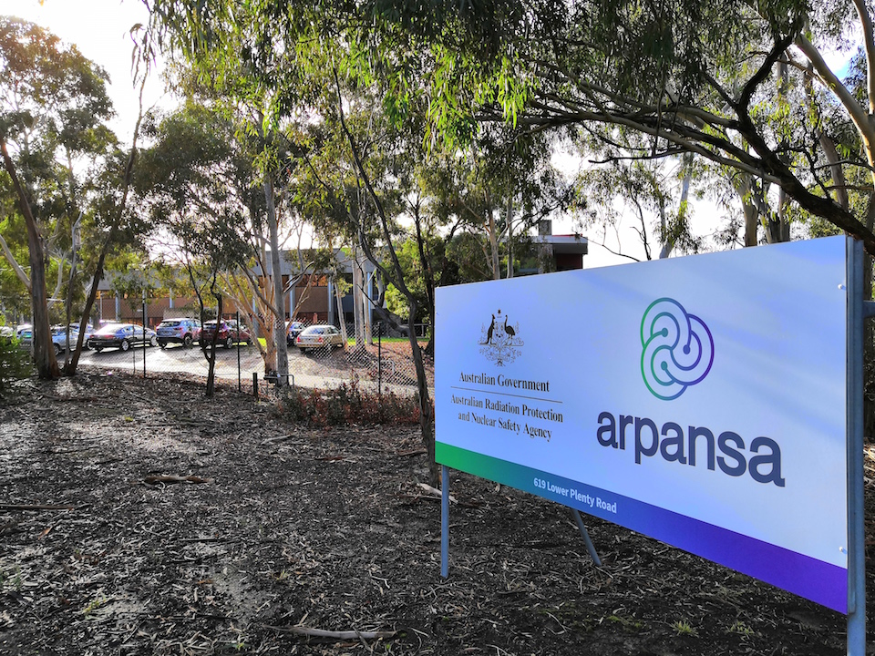 ARPANSA's research and waste storage facility in Yallambie, Victoria. PHOTO: Else Kennedy