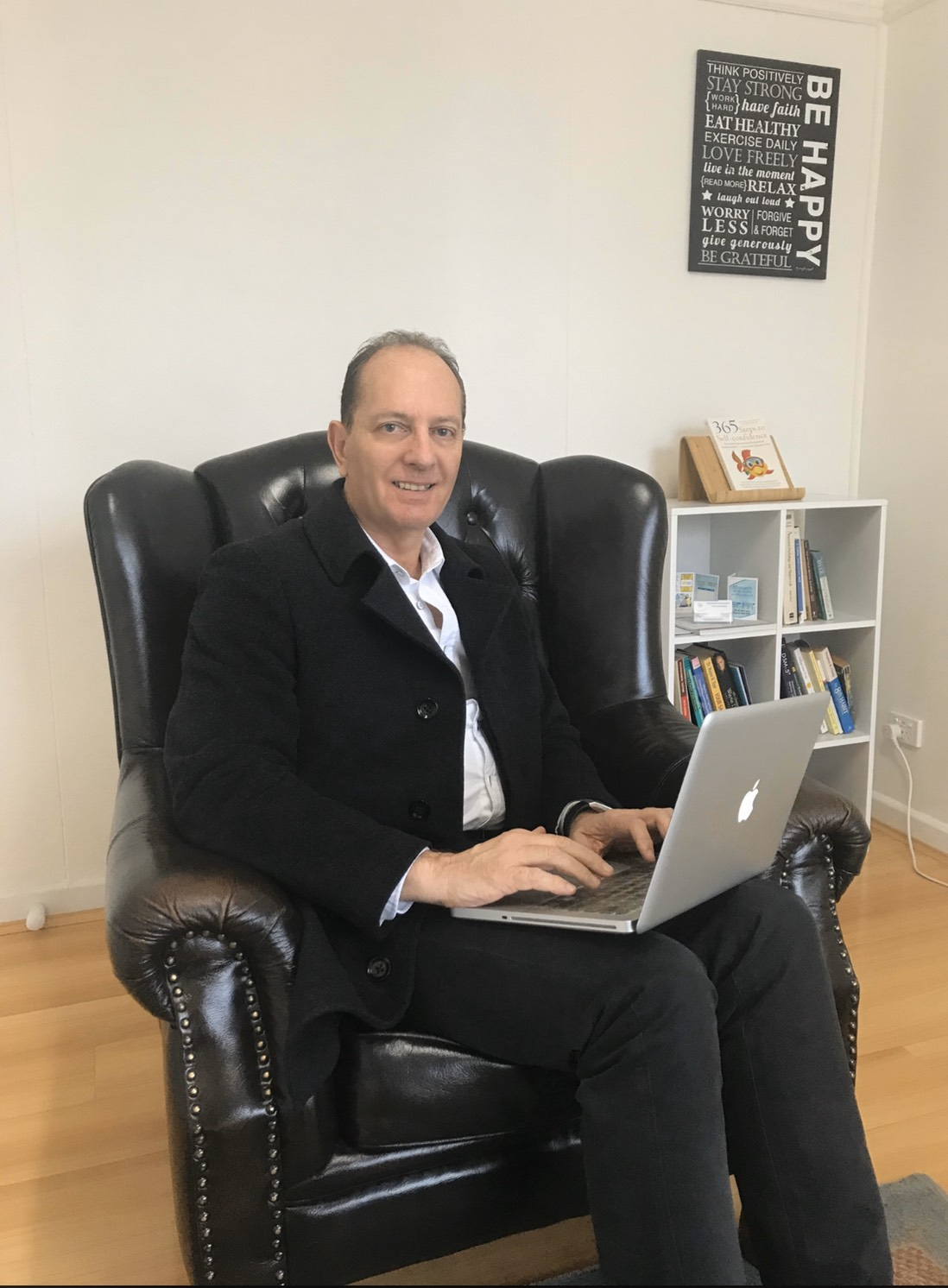 Clayton psychologist Francois Joubert has noticed an increase in patients coming to his clinic with anxiety and depression since early March. Photo: supplied.