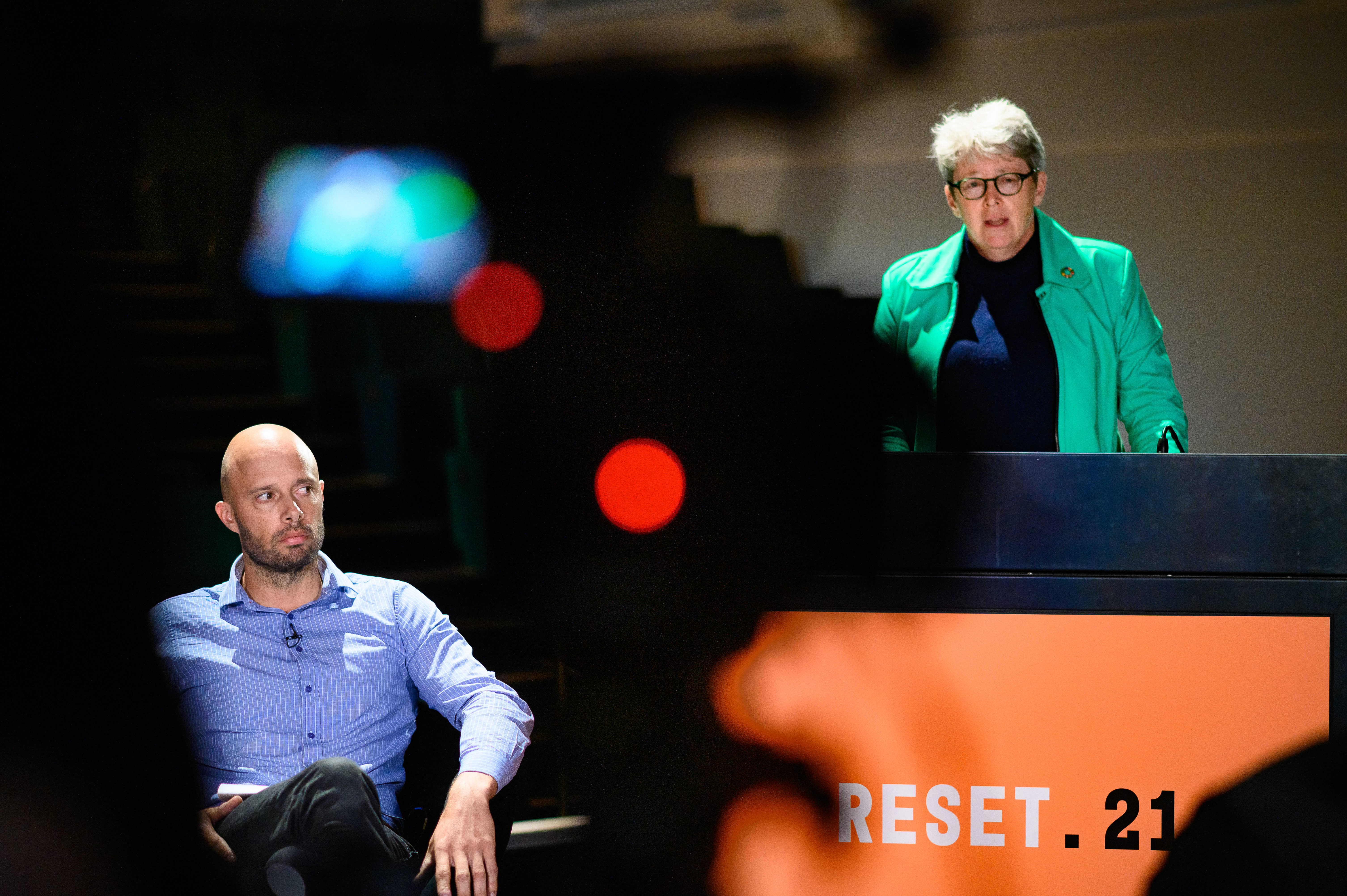 """""""We haven't had a national security risk assessment or a climate security risk assessment. It's just not there … that certainly is the thing that needs to happen now,""""the former director of preparedness and mobilisation at the Department of Defence Cheryl Durrant, right, told the Climate Emergency Summit forum."""