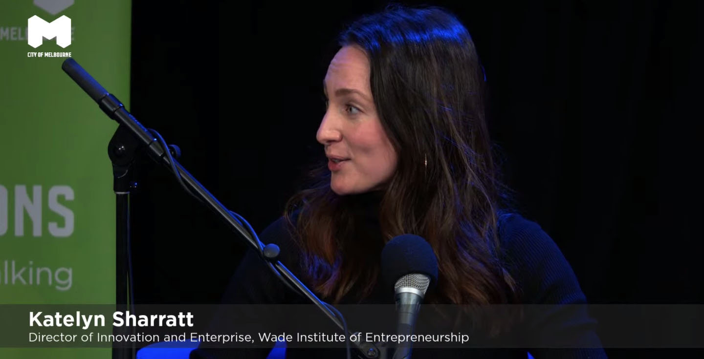 Discussing the need for more diversity in the startups scene, Katelyn Sharratt said that pressure on founders to tailor their startup to investors and deliver was a factor that had historically limited diversity.