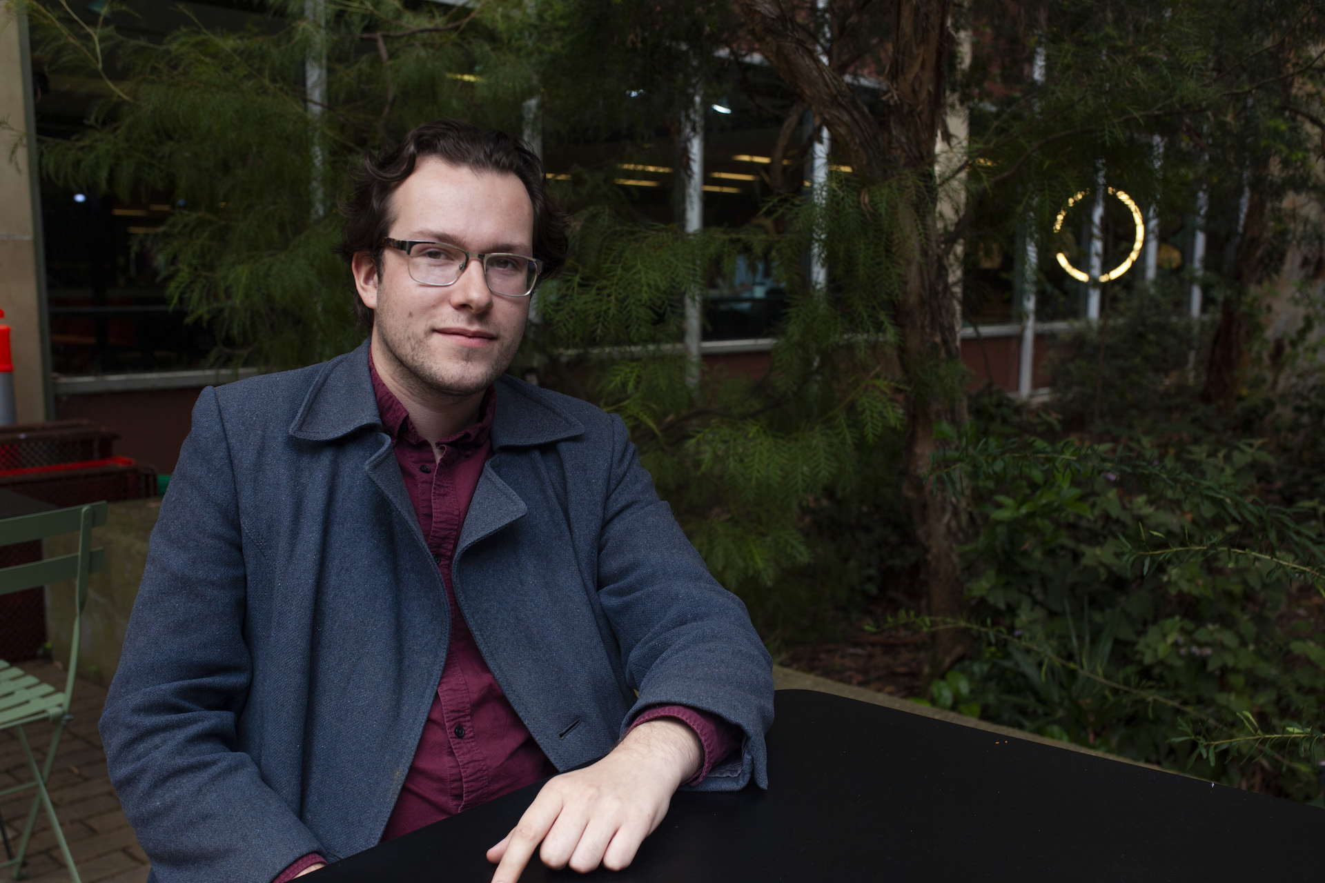"""""""It just doesn't seem like [the job agencies] are doing the job that they're supposed to be doing"""": Isa Pendragon, who was initially overjoyed to be approved for the payment, but felt his job provider treated him inappropriately through Melbourne's lockdowns. Photo: Ashleigh Barraclough"""